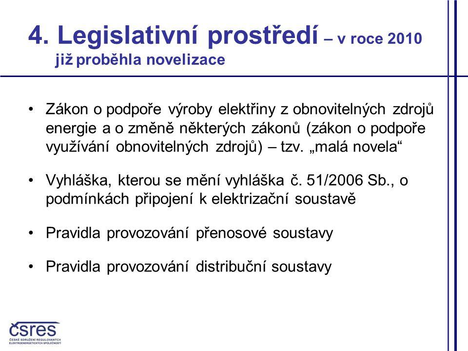 Zdroj: SEIA, 04/2010 5.