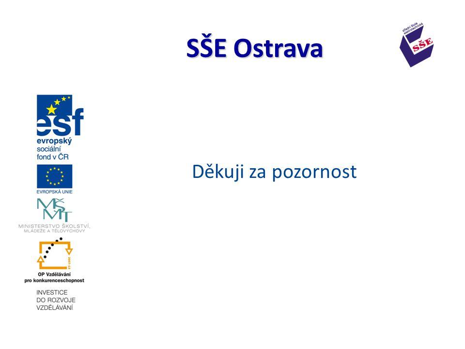 Děkuji za pozornost SŠE Ostrava