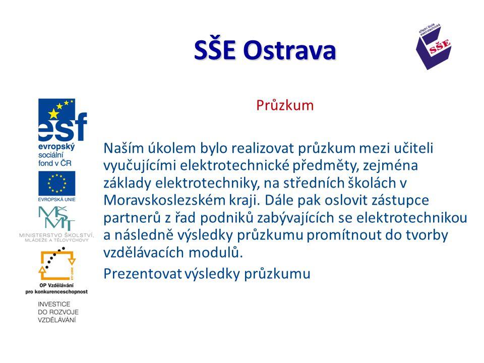 Průzkum Naším úkolem bylo realizovat průzkum mezi učiteli vyučujícími elektrotechnické předměty, zejména základy elektrotechniky, na středních školách v Moravskoslezském kraji.