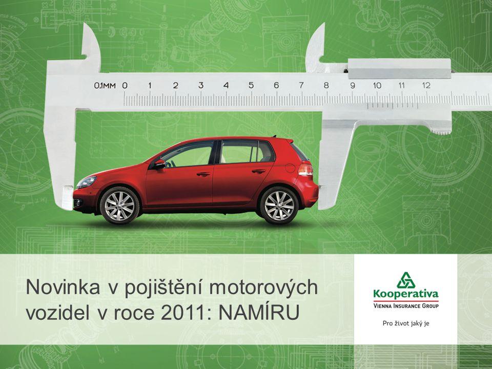 Novinka v pojištění motorových vozidel v roce 2011: NAMÍRU