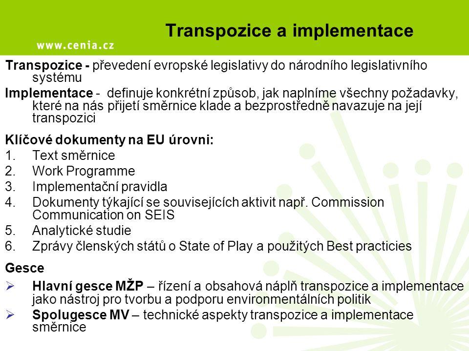 """Klíčové oblasti transpozice Koordinátor INSPIRE •Zajišťuje metodické řízení NGII •Koordinuje poskytování služeb NGII •Systematicky vyhodnocuje fungování NGII •Připravuje závazné postupy pro fungování NGII v souladu s cíly vlády •Vyhodnocuje a zveřejňuje nejlepší postupy ve veřejné správě (""""best practices ) •Vyhodnocuje sociální a ekonomickou náročnost a přínosy NGII •Zajišťuje předkládání potřebných materiálů vládě •Dává doporučení ke změnám ve fungování NGII a správců datových zdrojů •Vede seznam profesních sdružení zainteresovaných v NGII •Rozhoduje o způsobilosti profesního sdružení k atestaci"""