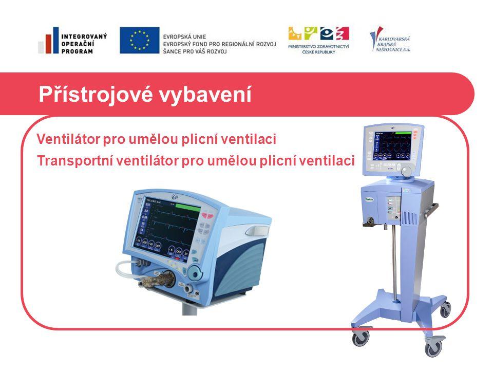 Přístrojové vybavení Ventilátor pro umělou plicní ventilaci Transportní ventilátor pro umělou plicní ventilaci