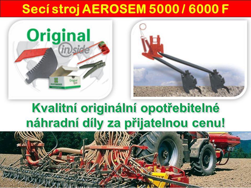 Secí stroj AEROSEM 5000 / 6000 F