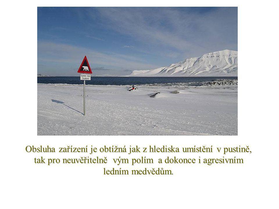 Pro zajištění bezpečnosti, je zařízení vybaveno obrněnými dveřmi a obvodovým oplocením, a zajišťují ji norské úřady.