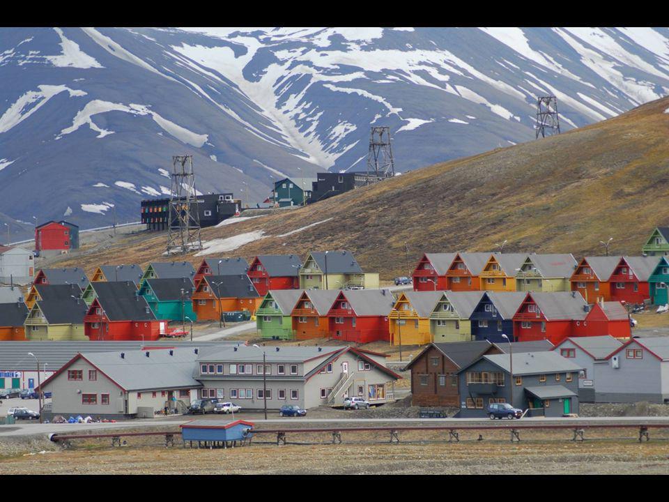 Salvador, norský ostrov vhodný pro sledování klimatických změn.