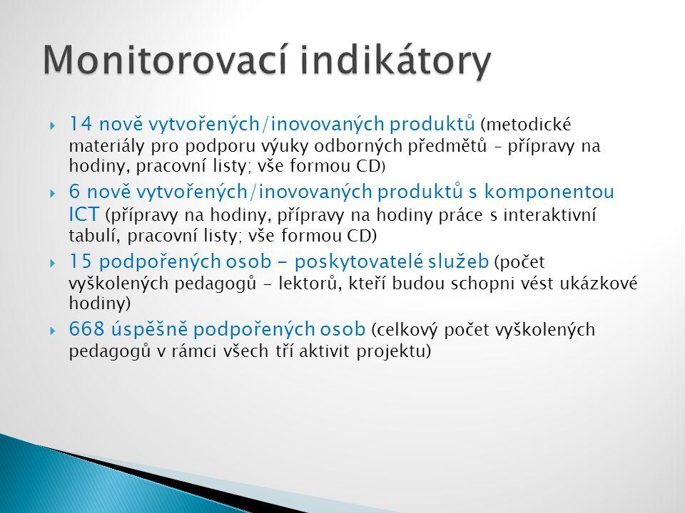 Za realizační tým: Simona Bonková – PM datum další schůzky partnerů: květen 2010