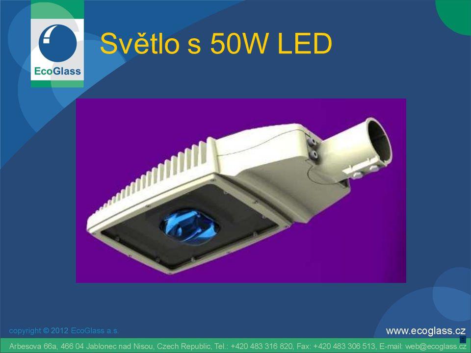 Světlo s 50W LED