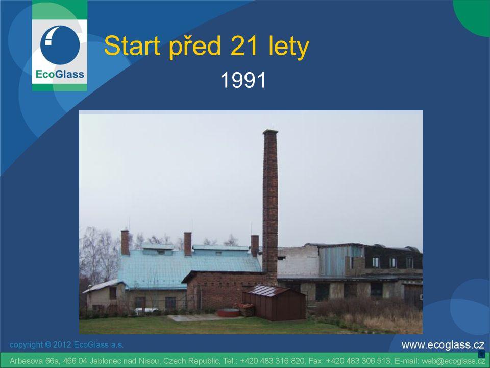 Start před 21 lety 1991