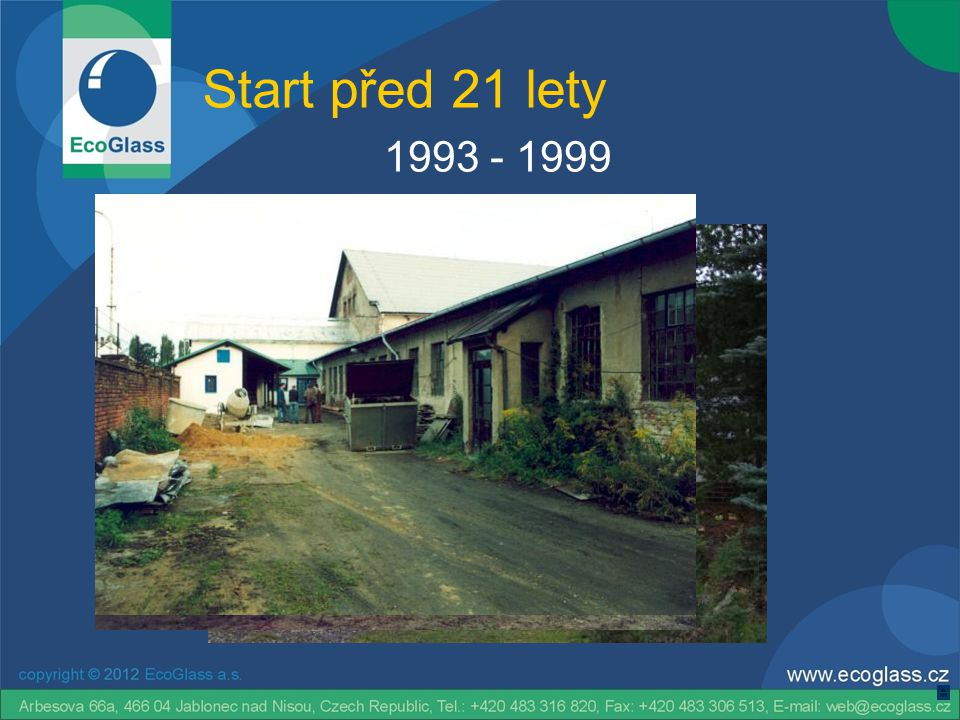 Start před 21 lety 2000 - 2012
