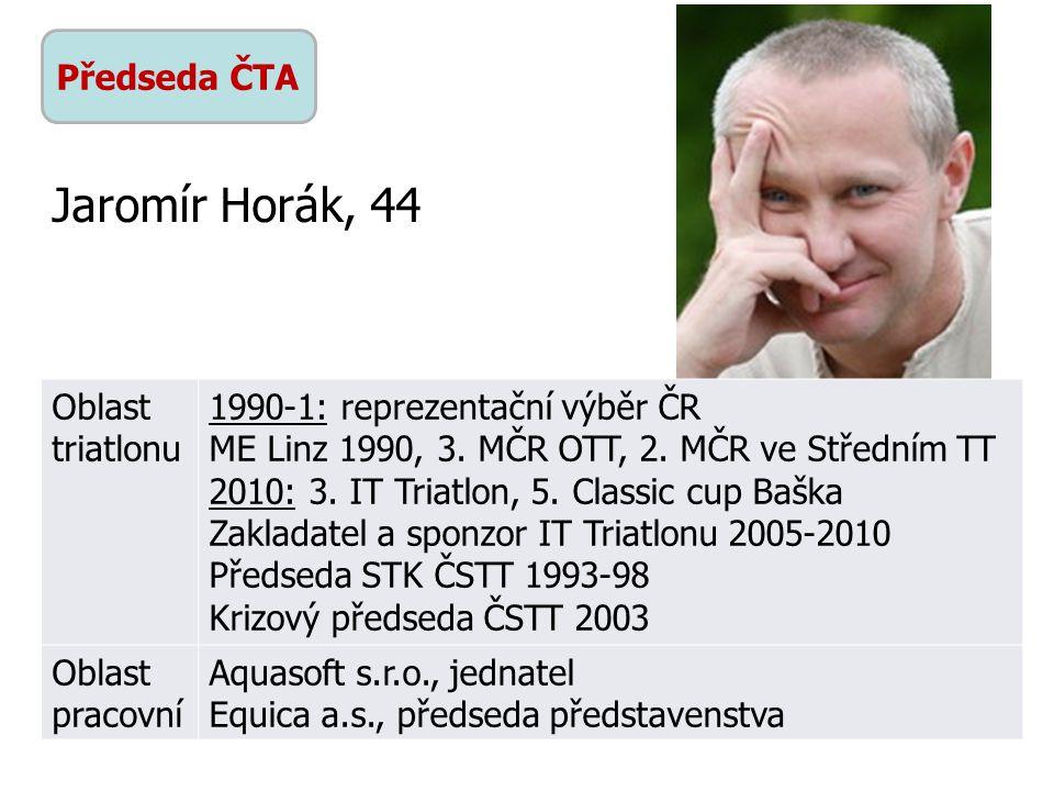 Předseda ČTA Oblast triatlonu 1990-1: reprezentační výběr ČR ME Linz 1990, 3.
