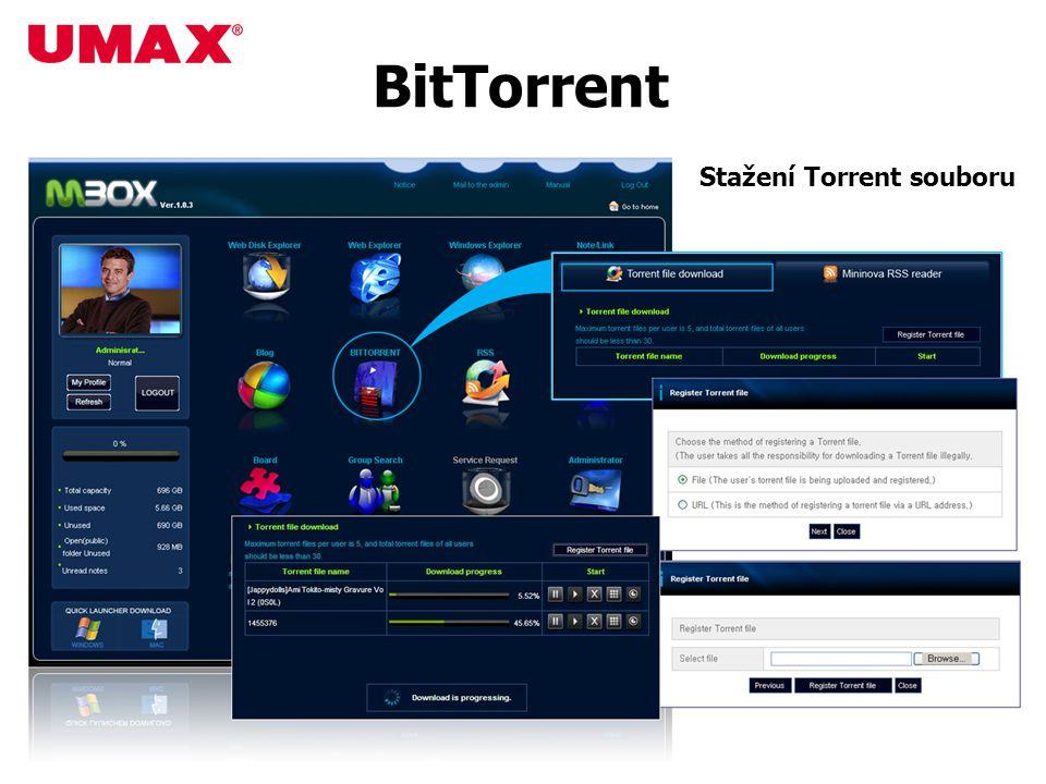 BitTorrent Stažení Torrent souboru