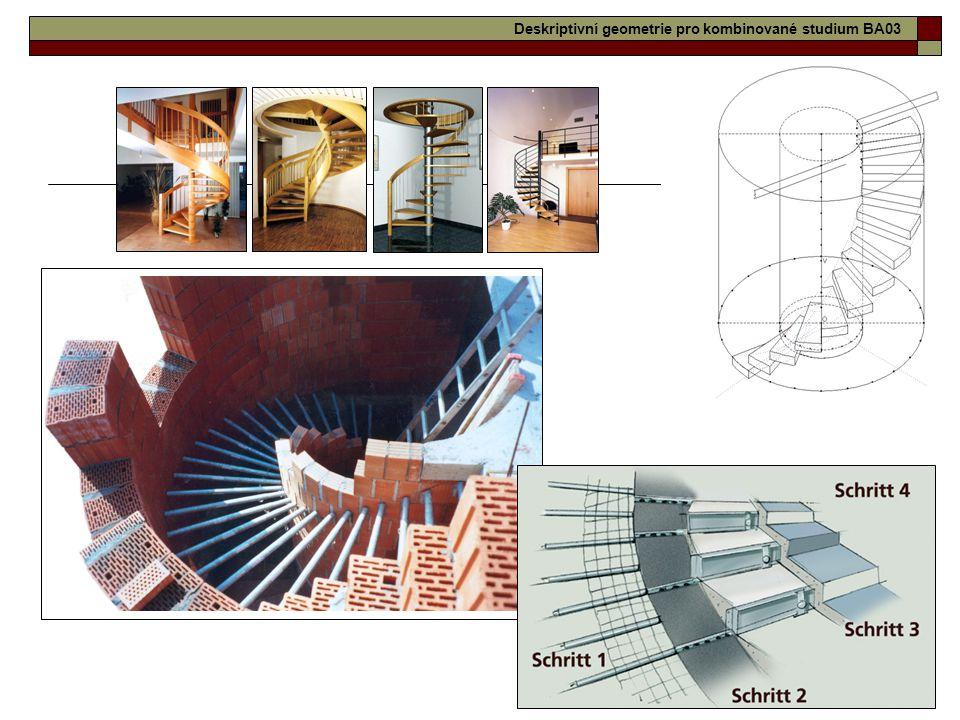 22 Deskriptivní geometrie pro kombinované studium BA03