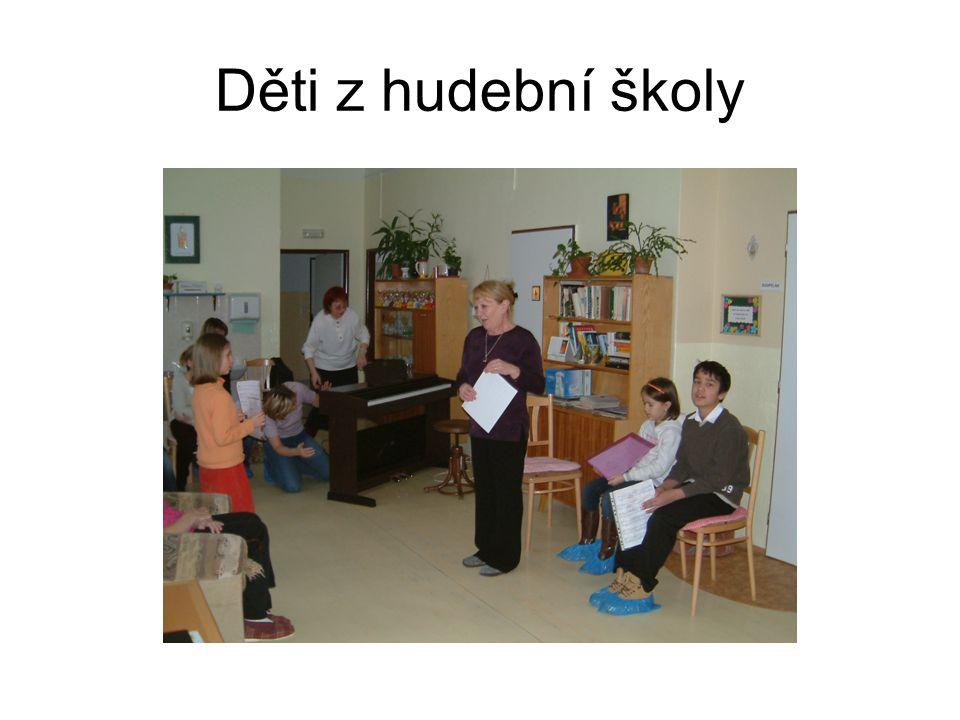 Děti z hudební školy