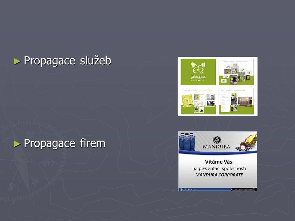 ► Propagace služeb ► Propagace firem