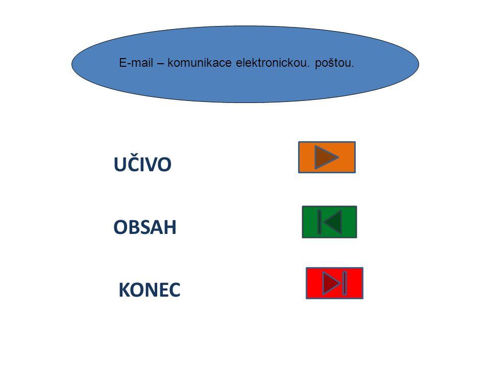 UČIVO OBSAH KONEC Specifika práce v síti, sdílení dokumentů a prostředků