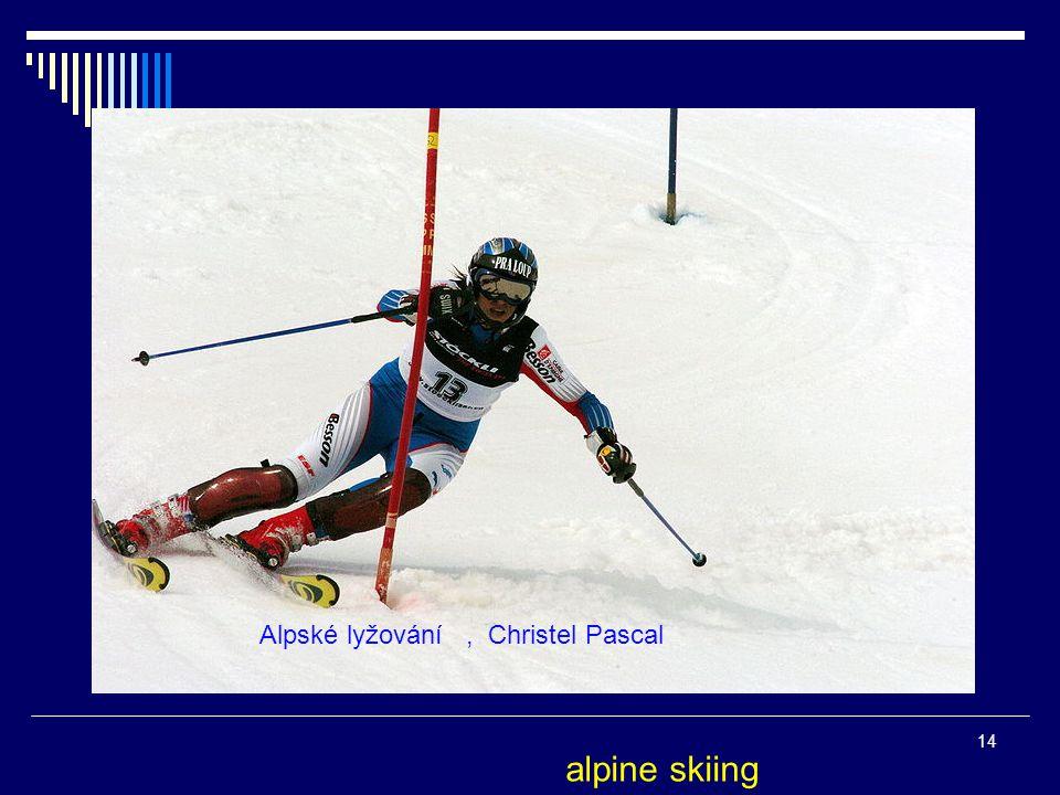 Alpské lyžování, Christel Pascal 14 alpine skiing