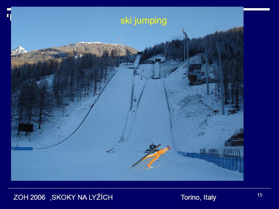 ZOH 2006,SKOKY NA LYŽÍCH Torino, Italy ski jumping 15