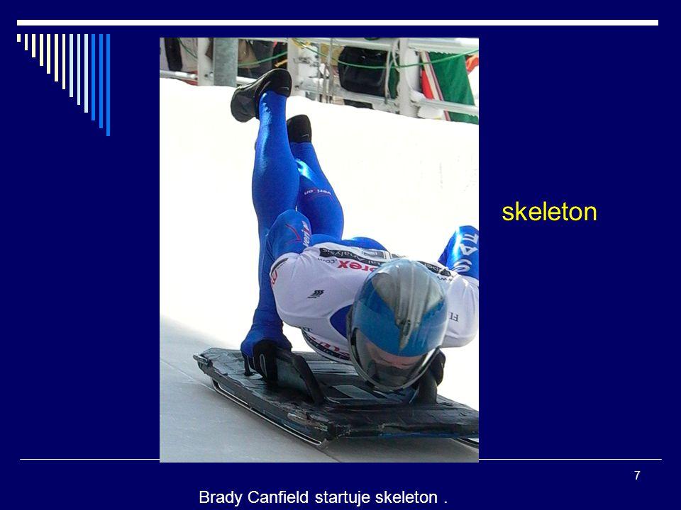 Brady Canfield startuje skeleton. 7 skeleton
