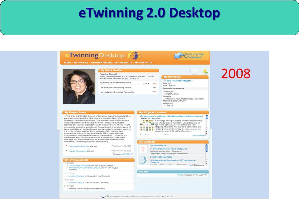 eTwinning 2.0 Desktop 2008