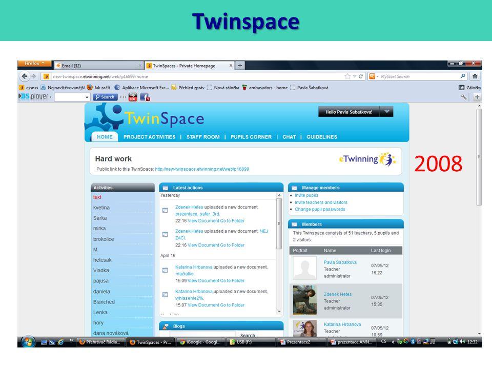 Twinspace 2008