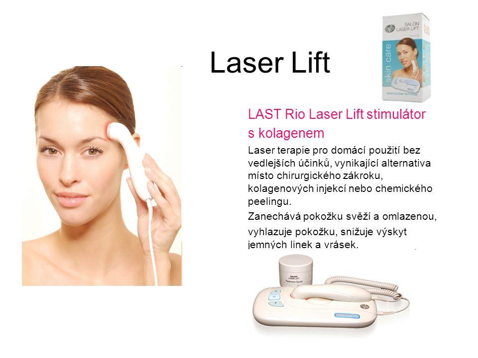 Laser Lift LAST Rio Laser Lift stimulátor s kolagenem Laser terapie pro domácí použití bez vedlejších účinků, vynikající alternativa místo chirurgické
