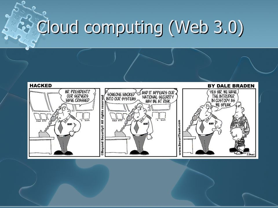 Cloud computing (Web 3.0)