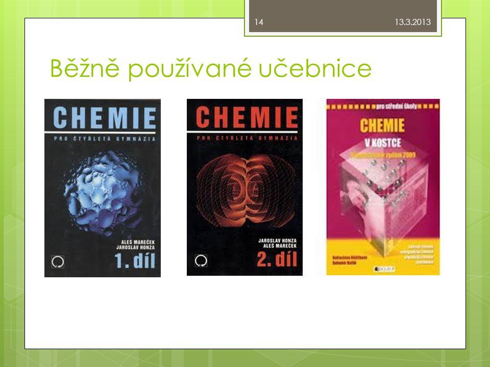 Běžně používané učebnice 13.3.2013 14