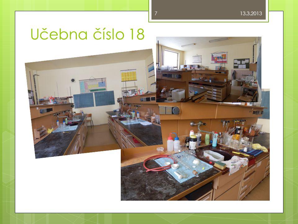 Učebna číslo 18 13.3.2013 7