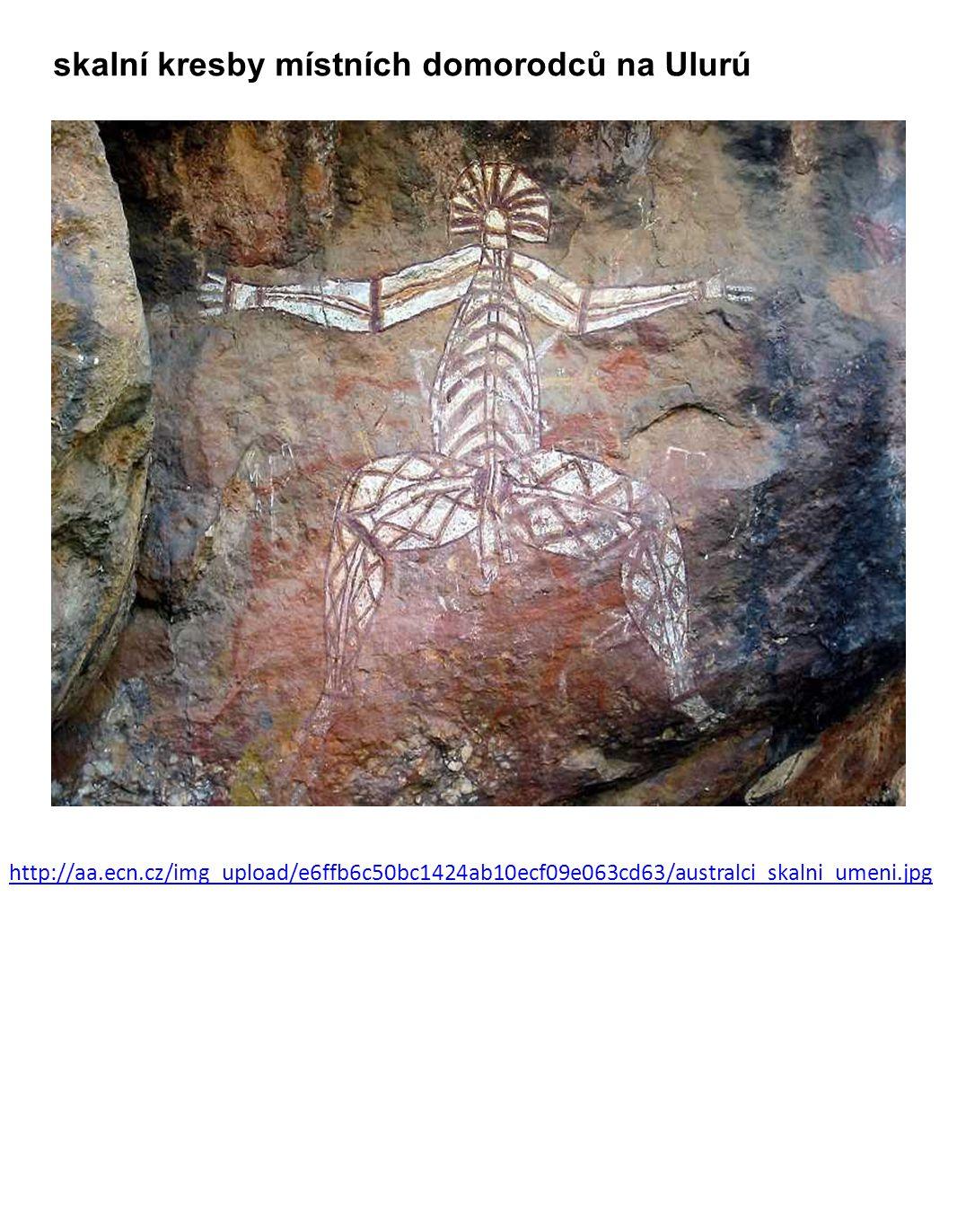 skalní kresby místních domorodců na Ulurú http://aa.ecn.cz/img_upload/e6ffb6c50bc1424ab10ecf09e063cd63/australci_skalni_umeni.jpg