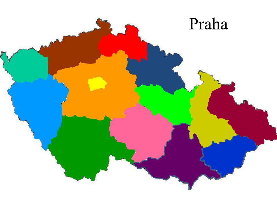 Česká republika KRAJE Klikni na správný kraj