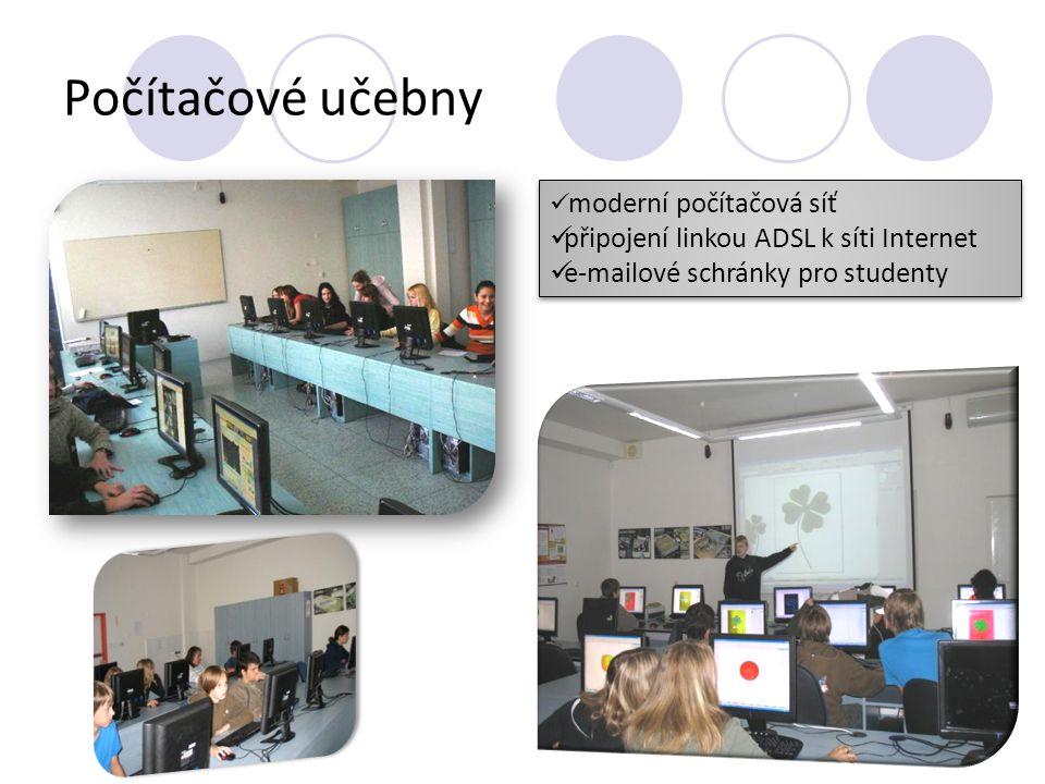 Laboratoře Laboratoř fyziky Laboratoř biologie Laboratoř chemie