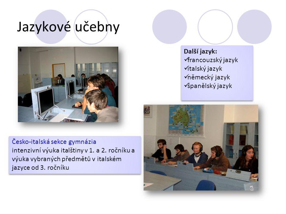 Odborné učebny učebna biologie učebna chemie