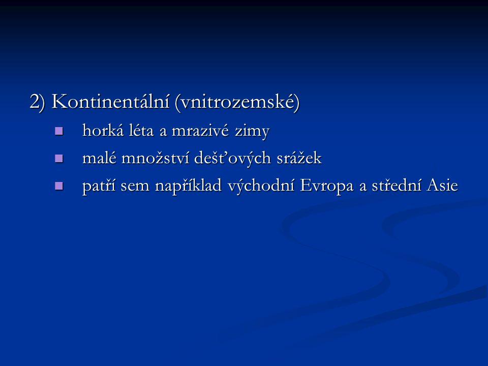 Vliv oceánu na atmosférické srážky www.stiefel-eurocart.cz