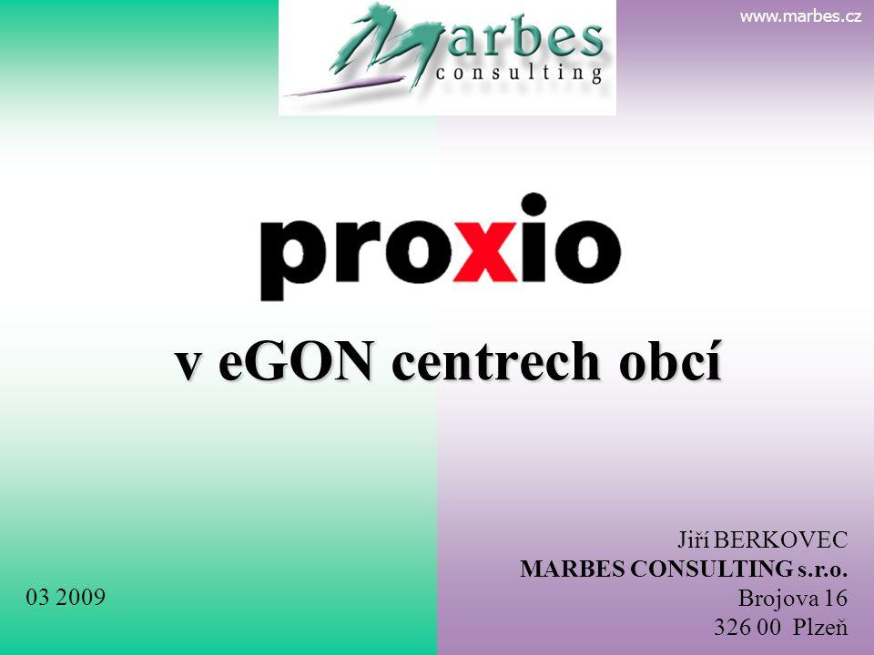 www.marbes.cz MARBES CONSULTING •konzultační společnost, orientace na veřejnou správu •vznik r.