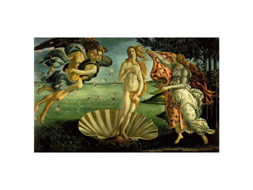 Leonardo da Vinci ( 1452 – 1519) •přechod mezi ranou a vrcholnou renesancí •byl vzorem renesanční všestrannosti, objevil vzdušnou perspektivu a šerosvit (sfumato) •zajímal se o anatomii, biologii, geologii, hydrologii,… •žil střídavě ve Florencii a Milánu ve službách Lodovika Mora •jeho učitelem byl Andrea del Verocchio