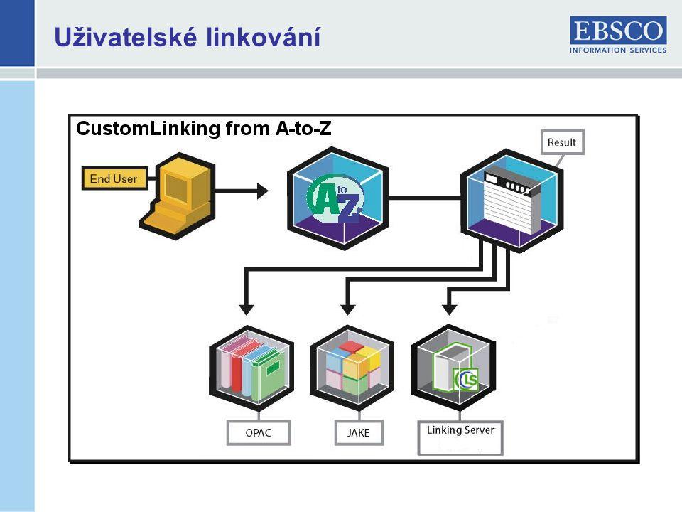 Uživatelské linkování