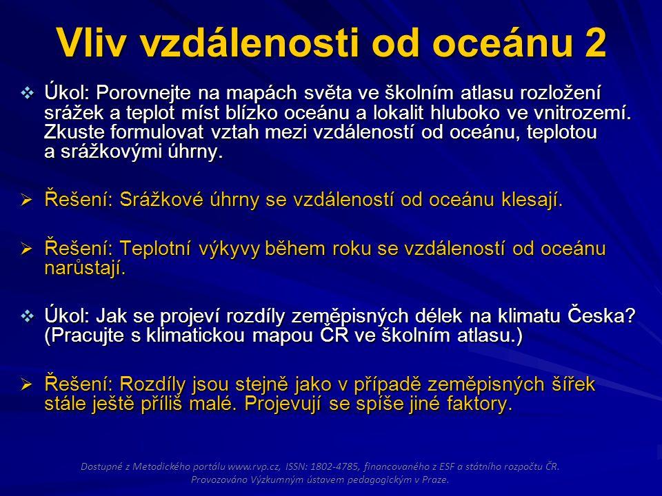 Vliv nadmořské výšky 1 Praha a Lysá hora leží v podobné zeměpisné šířce a také jejich vzdálenost od oceánu se příliš neliší.