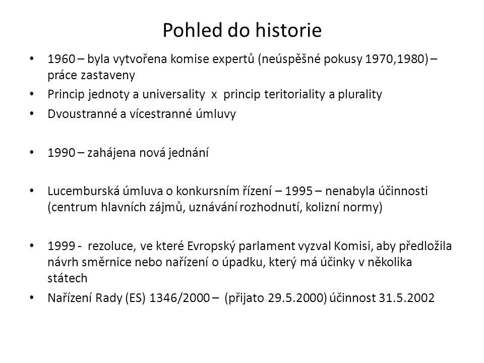 Pohled do historie • 1960 – byla vytvořena komise expertů (neúspěšné pokusy 1970,1980) – práce zastaveny • Princip jednoty a universality x princip te
