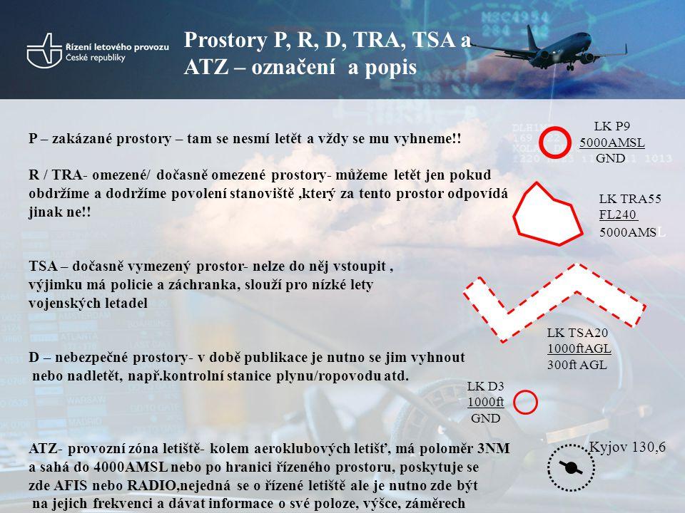 Vstup do CTR/TMA bez FPL •Velitelé letadel, kteří v souladu s ENR 1.10.1.1 nepředložili FPL, žádají letové povolení na základě údajů o letu (ENR 1.2.1.9.2) předaných příslušnému stanovišti ATS.