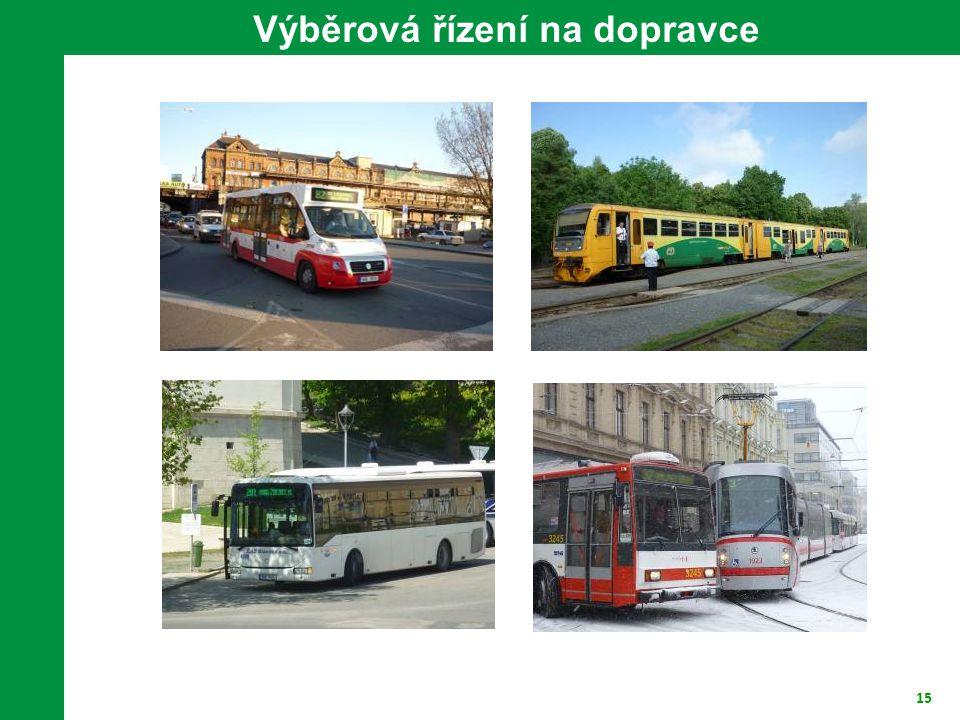 15 Výběrová řízení na dopravce