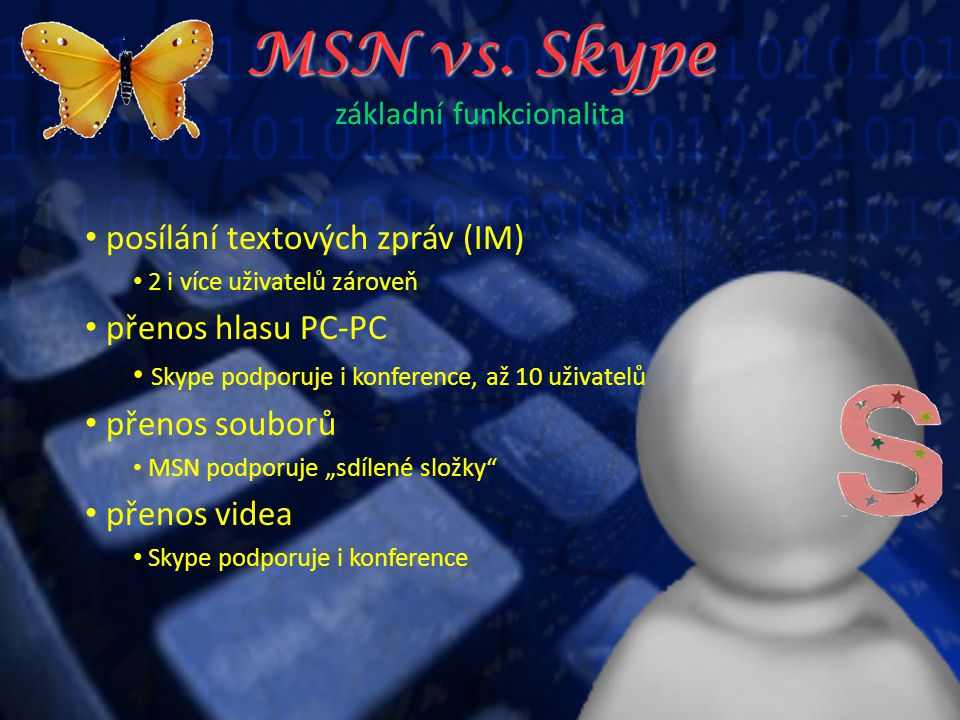 MSN vs.Skype MSN vs.