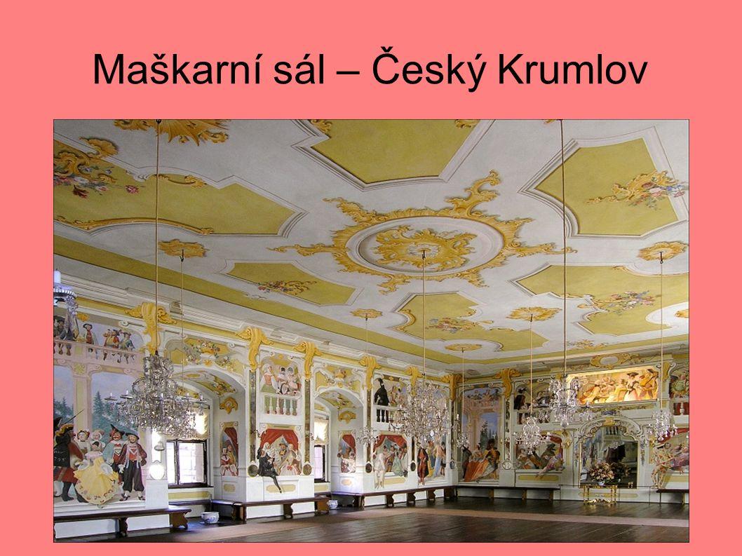 Maškarní sál – Český Krumlov