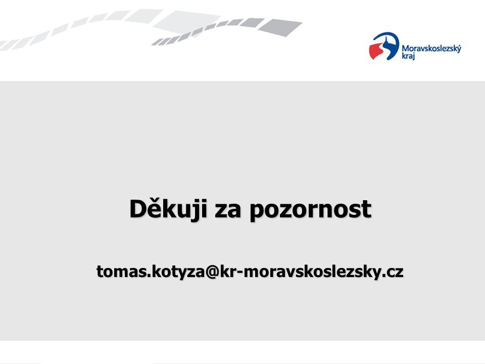 Děkuji za pozornost tomas.kotyza@kr-moravskoslezsky.cz