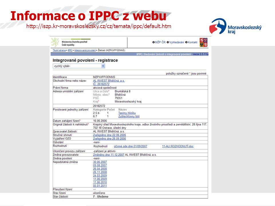 ArcelorMittal Ostrava závod 12 – Vysoké Pece Opatření na snížení emisí TZL a PAH (historie – současnost) •do roku 1996/97 pouze mechanické odlučovače - výstupní koncentrace TZL cca 400 mg/m 3 – 800 kg/hod •od roku 1997 instalace elektrostatických odlučovačů - povolené limity 100 mg/m 3 – 200 kg/hod •od 1.1.2010 jsou platné zákonem stanovené limity (rekonstrukce EO) 50 mg/m 3 – 100 kg/hod •od 1.1.2012 jsou integrovaným povolením sníženy oproti národní legislativě limity na 20 mg/m 3 – 40 kg/hod (nutnost instalace tkaninových filtrů) •Mezi roky 1997 – 2012 tak dojde ke snížení emisí TZL z 800 kg/hod na 40 kg/hod t.j.