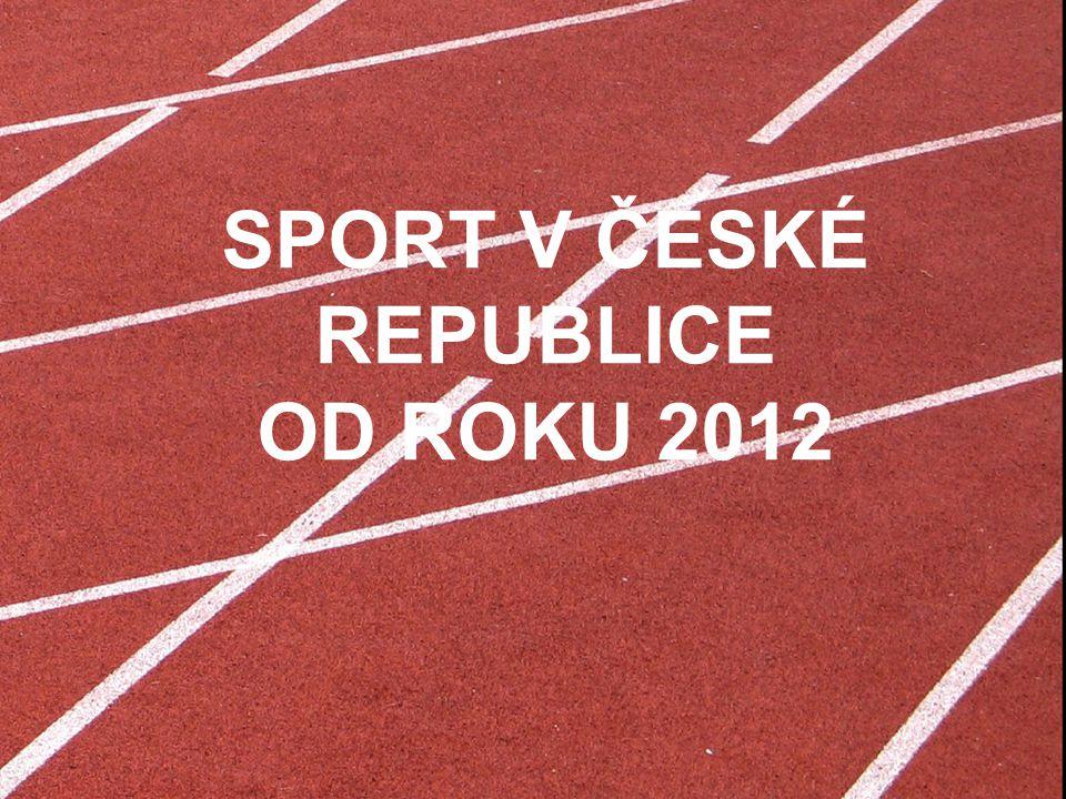 SPORT a ekonomika České republiky 1.Sportu se věnuje na vrcholové i rekreační úrovni organizovaně více než 2,5 mil.