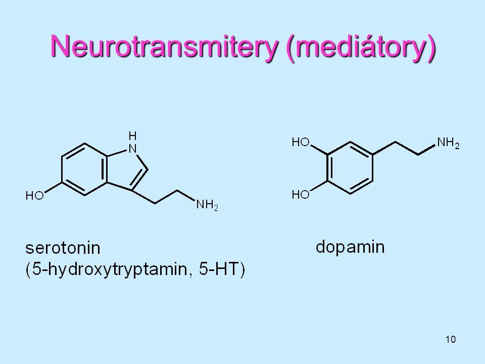 10 Neurotransmitery (mediátory)