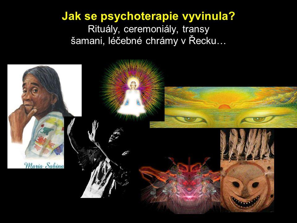 Jak se psychoterapie vyvinula? Rituály, ceremoniály, transy šamani, léčebné chrámy v Řecku…