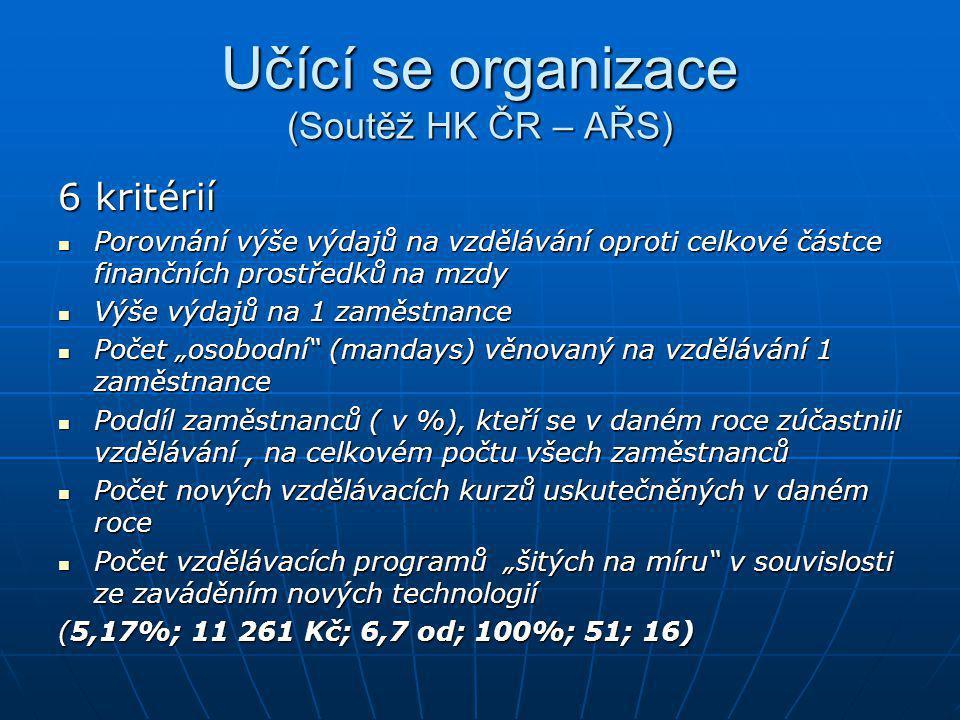 Memorandum o celoživotním učení (Evropská komise, listopad 2000) Cíl: zahájit celoevropskou diskusi o CŽU 6 problémových okruhů (myšlenek): 1.