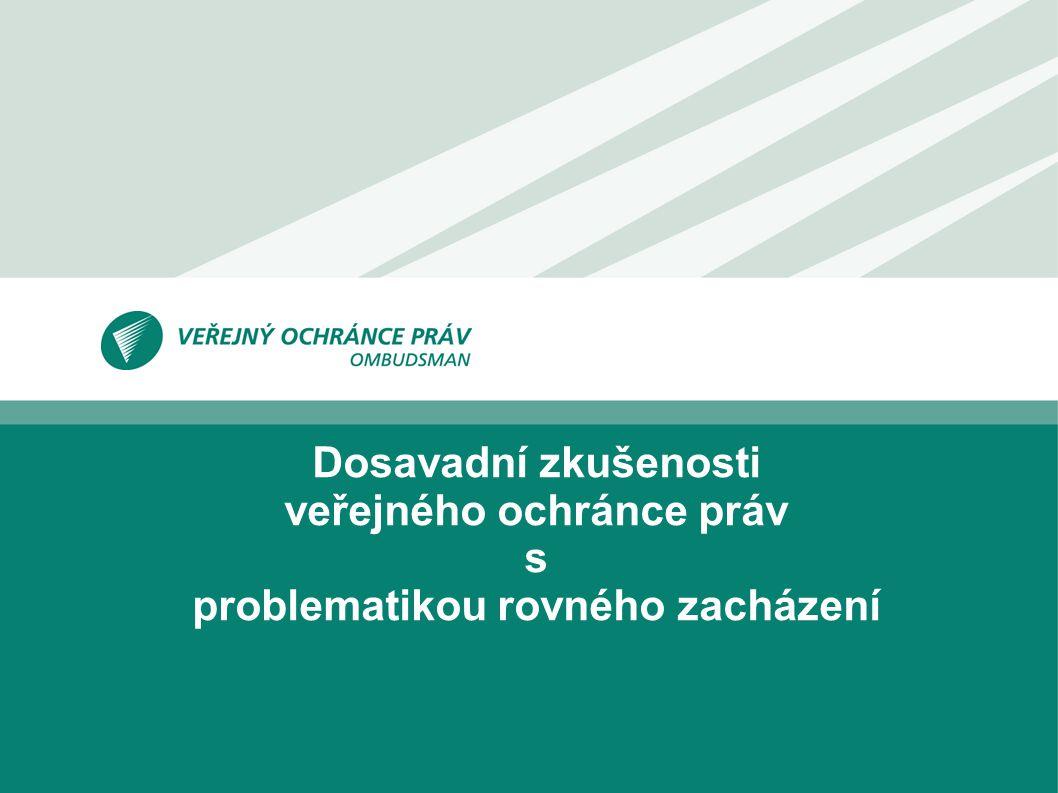 www.ochrance.cz 12 Konkrétní podnět III Před týdnem jsem totiž dostala výpověď.
