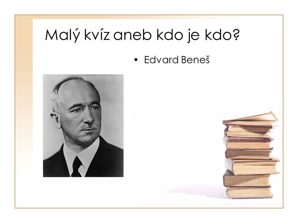 •Edvard Beneš